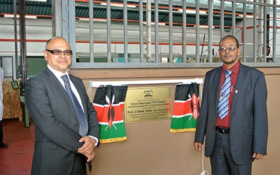 Kenya project succesfully finalized