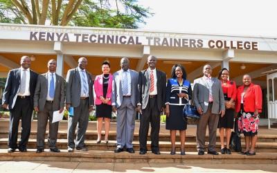 Lancement officiel du projet de classe intelligente (smart classroom) au Kenya