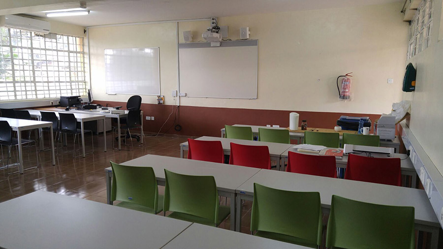 Smart Classroom in Kabete Technical Training Institute