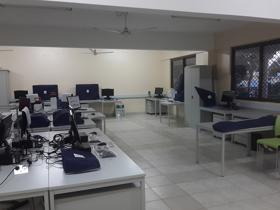 Smart Classroom in Mombasa Technical Training Institute