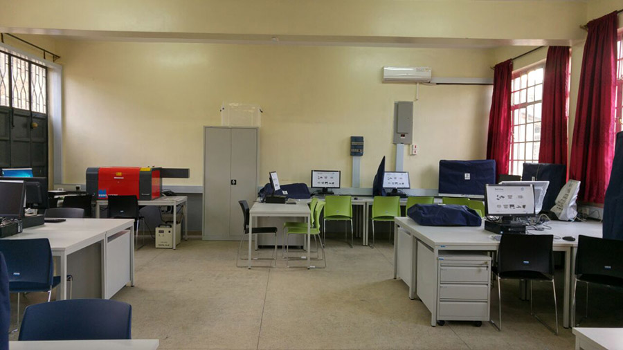 Smart Classroom in Nairobi Technical Training Institute