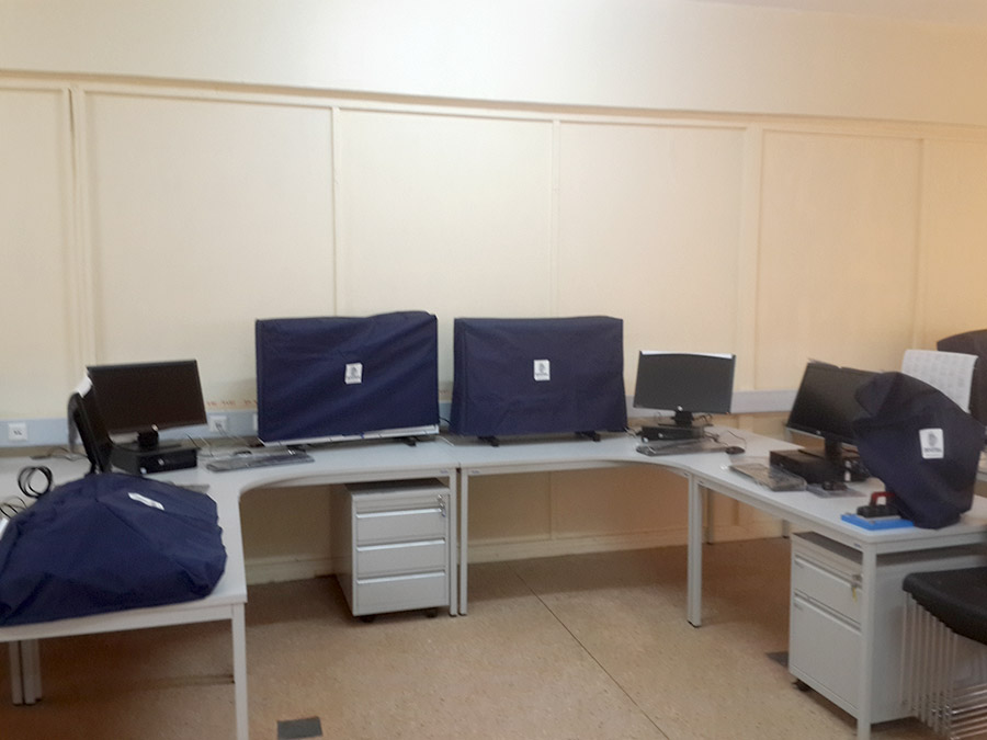 Smart Classroom in Nyeri Technical Training Institute