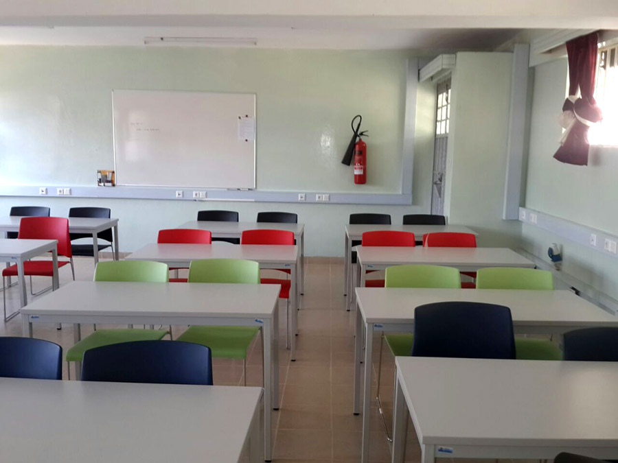 Smart Classroom in Ramogi Institute for Advanced Technology