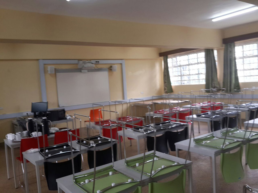 Smart Classroom in Sigalagala Technical Training Institute