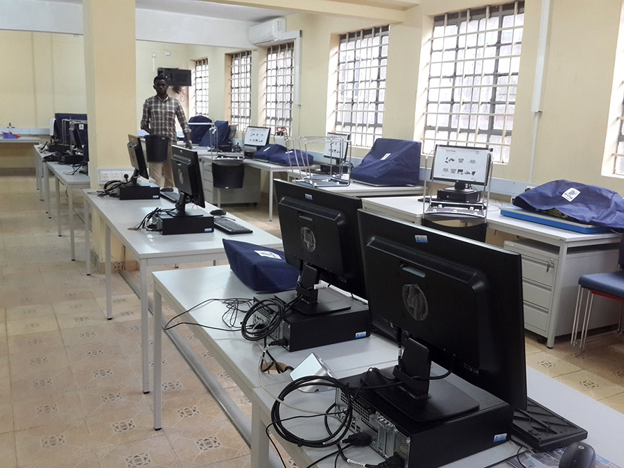 Smart Classroom in Thika Technical Training Institute