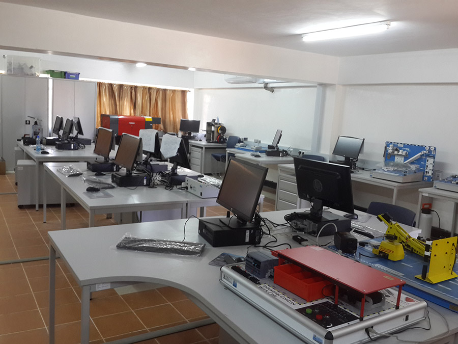 Smart Classroom in Rift Valley Technical Training Institute