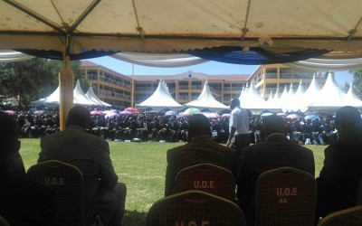 Smart Classroom project officially launched by Deputy President Mr. William Ruto