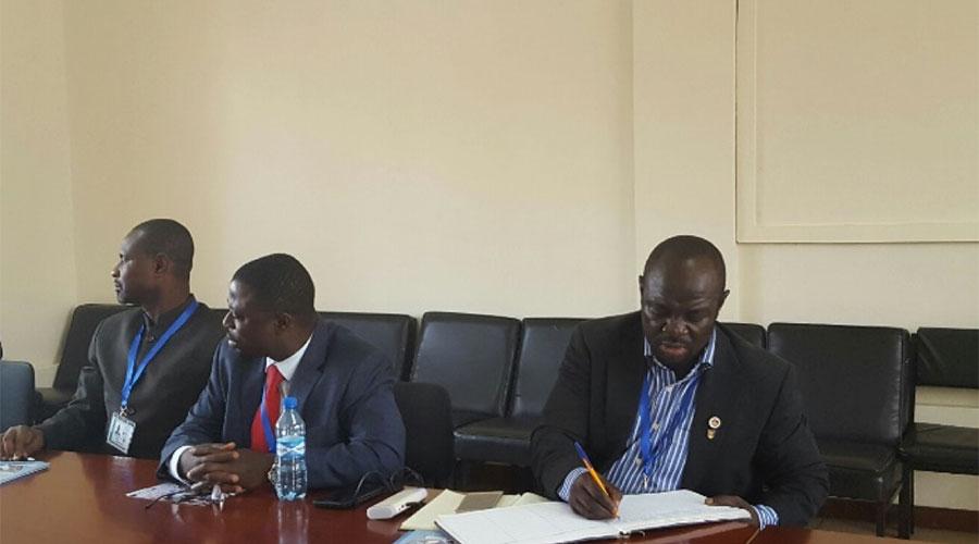From Ghana Mr J. Asare-Adjei, Dr. Fred Kyei Asamoach and Samson Demptey