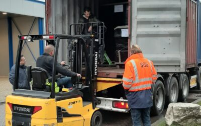 Loading the First Containers for KEFEP.