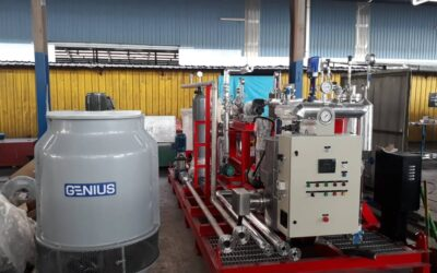 Unique Steam Boiler Turbine Training Plant for The Kisumu National Polytechnic